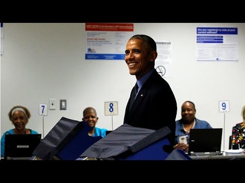 ΗΠΑ: Ψήφισε εκ των προτέρων ο Μπαράκ Ομπάμα
