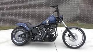 7. 039253   2007 Harley Davidson Softail Night Train   FXSTB