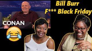 😂 Bill Burr Hates Black Friday - CONAN Reaction   Mom Reacts