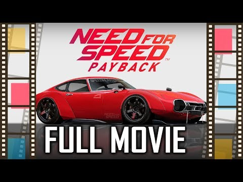 NFS Payback Full Movie | Need for Speed Payback All Cutscene Movie