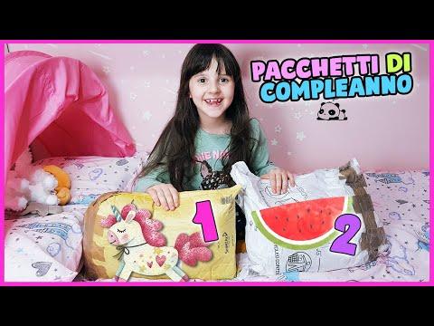 Pacchetti di compleanno per Alyssa - by zia Elena