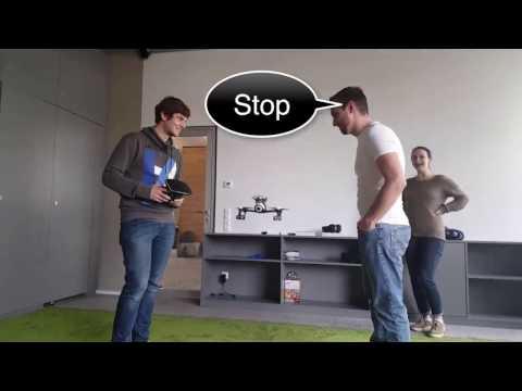 drone emergency stop via audio with snowboy