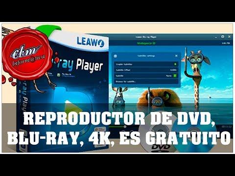EL MEJOR REPRODUCTOR DE DVD, BLU-RAY, 4K, ES GRATUITO