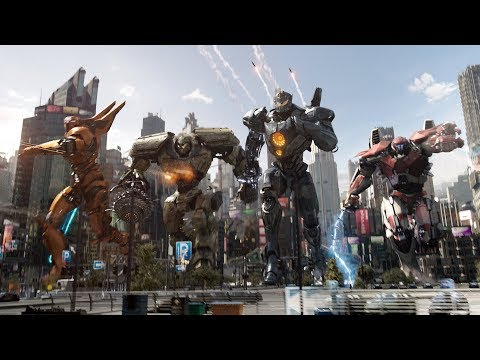 PACIFIC RIM 2 Clips & Trailers Compilation