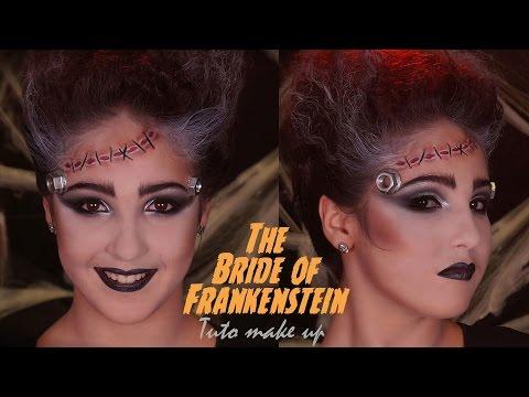 Maquillage Halloween / La Fiancée de Frankenstein