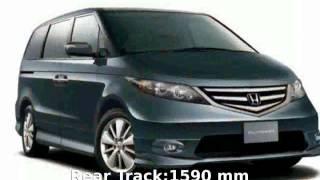 10. 2007 Honda Elysion G Aero Specs & Details