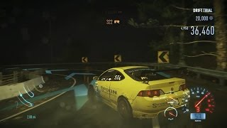 Need For Speed 2016 PC gameplay using a fully upgraded 2004 Acura RSX-S a.k.a Honda Integra Type R DC5 with keyboard ...