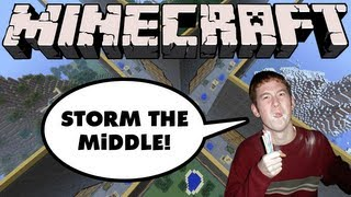 Minecraft - The Walls - Storm the Middle!