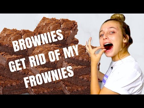 i made brownies because i had a bad day