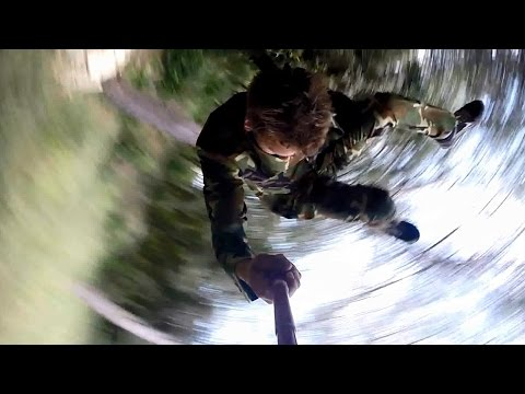 GoPro Parkour with Commando Opposuit ~ by Raphaël Bourgeat-lami