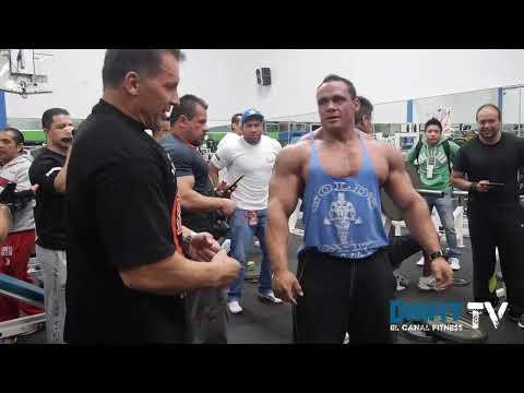 Muscle Camp con Milos Sarcev en México DF 2013