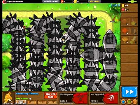 "Bloons Monkey City - NEW MOAB Class Super Bloon ""DDT"""