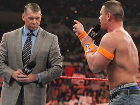 Raw: John Cena lures Mr. McMahon into an excellently