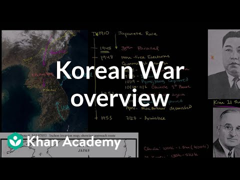 khanacademy - Learn more: http://www.khanacademy.org/video?v=MEGyRgYJKEY Korean War Overview.