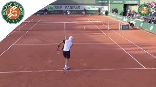 Shots of the day - Day 2 French Open 2015