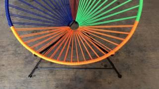 En esta segunda parte nos centraremos en la elaboracion del tejido de nuestra silla acapulco para adulto,  ideal para estas temporadas de mucha calor.Imagínate disfrutando de una siesta, a la sombra de un árbol sentado en una de estas sillas!!! Facebook: https://www.facebook.com/joseriosr2No olvides suscribirte y activar las notificaciones para enterarte de los nuevos vídeos. ES GRATIS!!!Saludos y buenas vibras!!