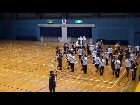 臼田中学校 マーチング練習 2013/11/3 (東海大会前日)