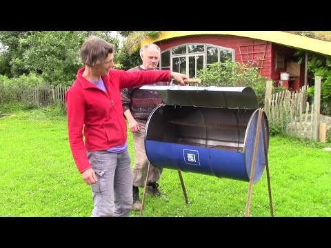 How To Make The Easiest And Best Oil Barrel Barbecue Ever! (No Welding)