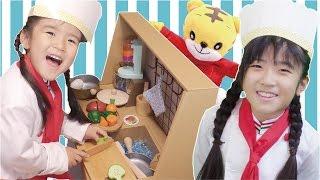 Kan & Asahi おしゃべりレストラン ごっこ