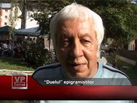 """""""Duelul"""" epigramiștilor"""