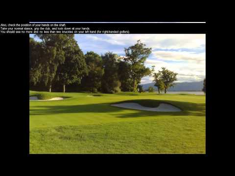 Daily Golf Tips/Golf Lessons For Beginners – How To Cure A Slice In Golf When Driving – Day 6