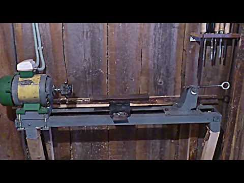 Видео деревообрабатывающий станок своими руками