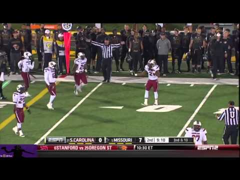 Maty Mauk vs South Carolina 2013 video.