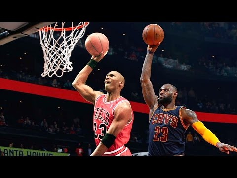 """LeBron James Says Michael Jordan Is The """"Ghost I'm Chasing"""""""