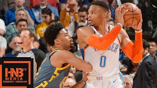 Golden State Warriors vs Oklahoma City Thunder Full Game Highlights | 11.21.2018, NBA Season