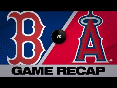 Video: Betts' go-ahead HR in 15th lifts Red Sox past Halos | Red Sox-Angels Game Highlights 8/30/19