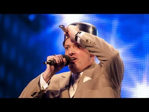 impersonator - Dalek impersonator Martyn Crofts has the BGT Judges in stitches with his Doctor Who inspired song. But will David Walliams, Alesha Dixon, Simon Cowell and Am...