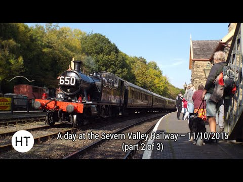 A day at the Severn Valley Railway 11th October 2015 (par...