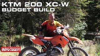 4. KTM 200 XC-W Budget Build