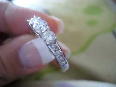 Zales 1 CT. T.W. Diamond Three Stone Ring