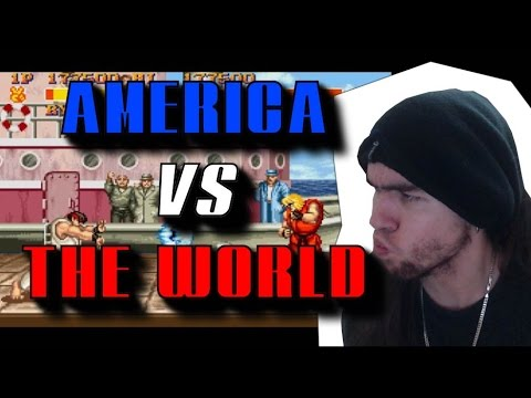 AMERICA VS THE WORLD – SUPER STREET FIGHTER II