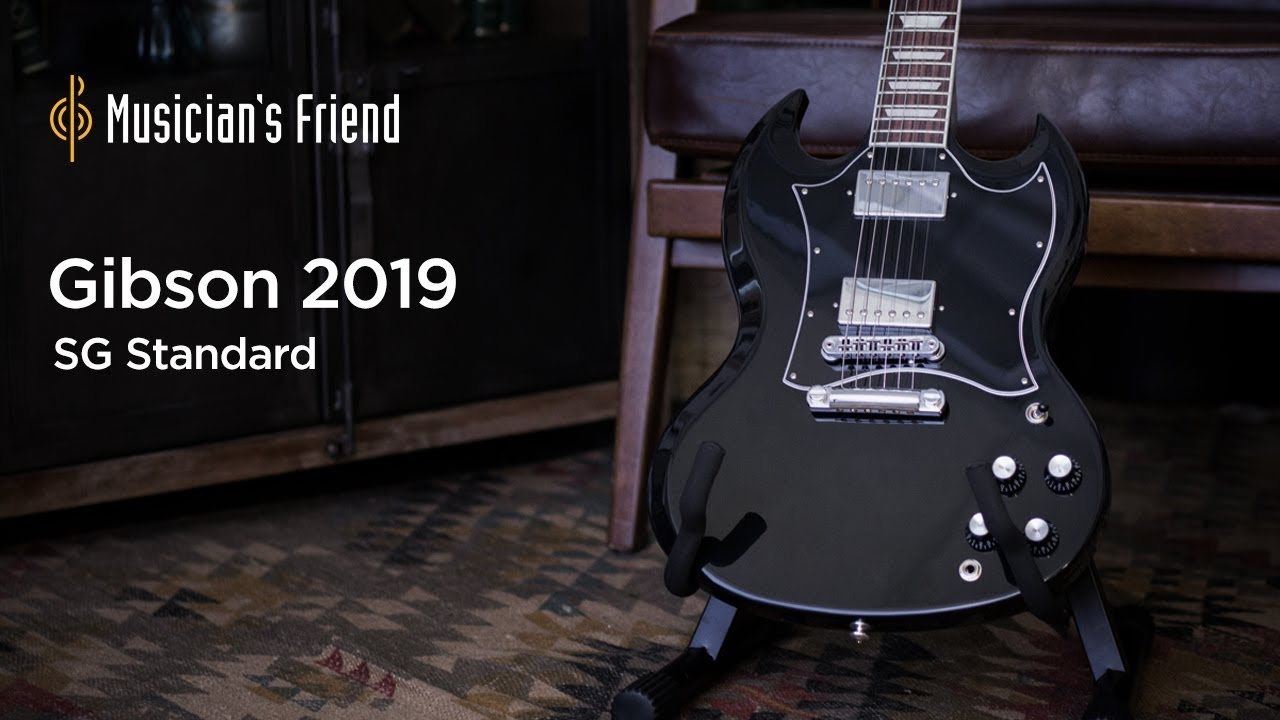 Gibson 2019 SG Standard Electric Guitar Demo