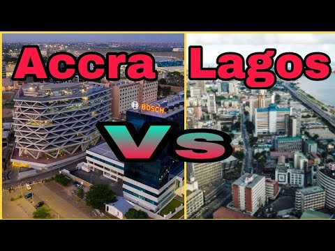 Accra Ghana Vs Lagos Nigeria . Which City Is More Beautiful?