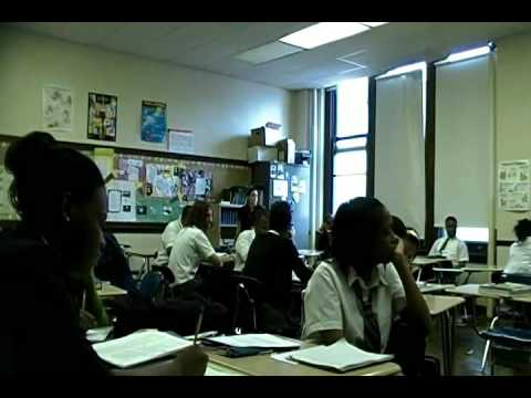 Sabir Bey speaks at Business Tech HS of Philladelphia pt 1