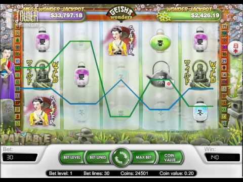 Geisha Wonders Slots - Tower Gaming