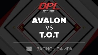 Avalon vs T.O.T, DPL Class A, game 1 [Jam, Inmate]