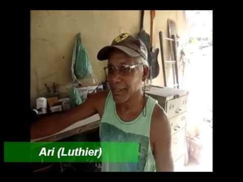 VISITA AO LUTHIER ARI EM ITAMARAJU - BA