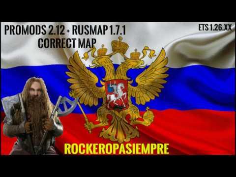 ProMods & RusMap Correctmap 1.26.x