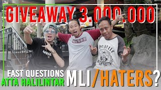 Video Atta Halilintar Vs Agus Cita #2 Give Away 3.000.000 MP3, 3GP, MP4, WEBM, AVI, FLV November 2018