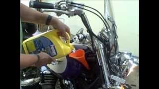 6. How to change the coolant on a 1995 Honda Shadow 1100 ACE motorcycle