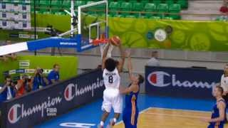 Play of the Game J. Tabu&J.-M. Mwema Belgium-Ukraine EuroBasket 2013