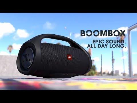 JBL BoomBox wasserdicht Portable Bluetooth Lautsprecher, camouflage