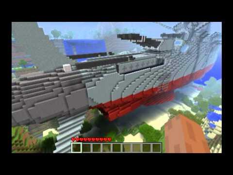 Minecraft Space Battleship Yamato