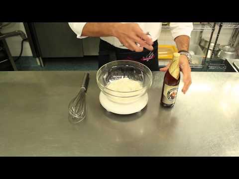 la pastella degli chef per un fritto croccante (senza uova).