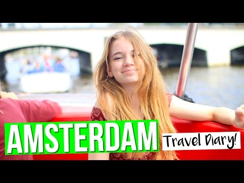 My Trip To Amsterdam | Travel Diary!