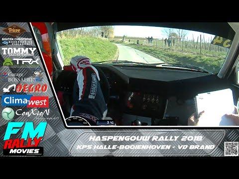Haspengouw rally 2018 | ONBOARD | Van Den Brand - KP5 Halle-Booienhoven [HD]